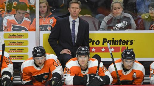 NHL: Vancouver Canucks at Philadelphia Flyers