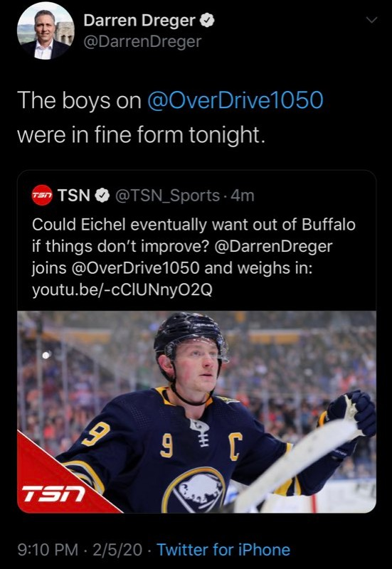 Is There A Plan To Save Jack Eichel From His Loyalty Scotty Wazz